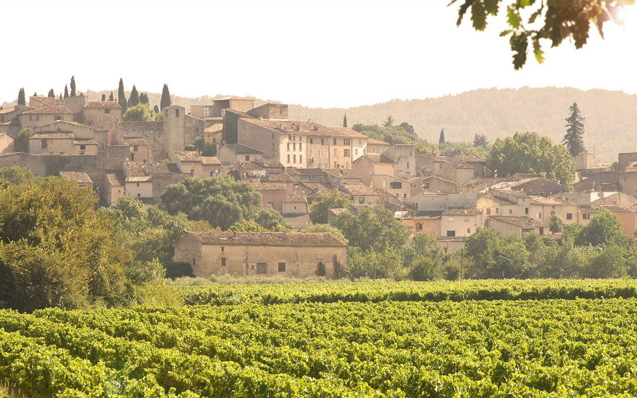 Provence's landscape, stay in Provence, Hôtel Prestige Provence