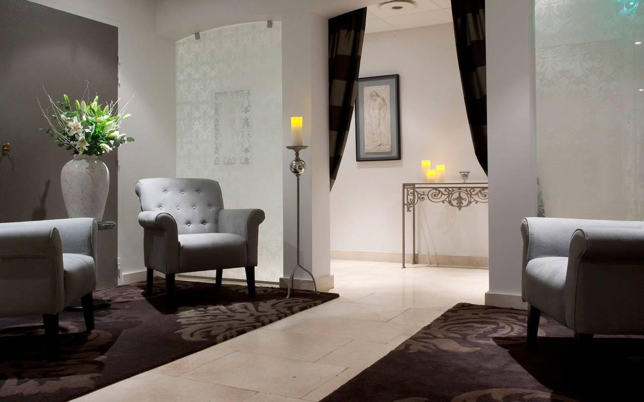 Salon privé du spa hôtel spa provence