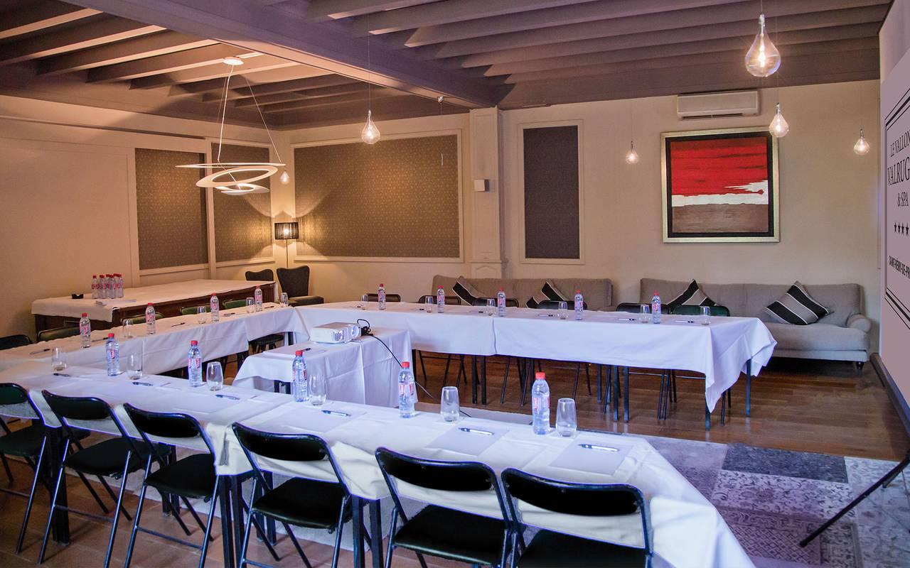 Salle de séminaire professionnel hôtel spa provence